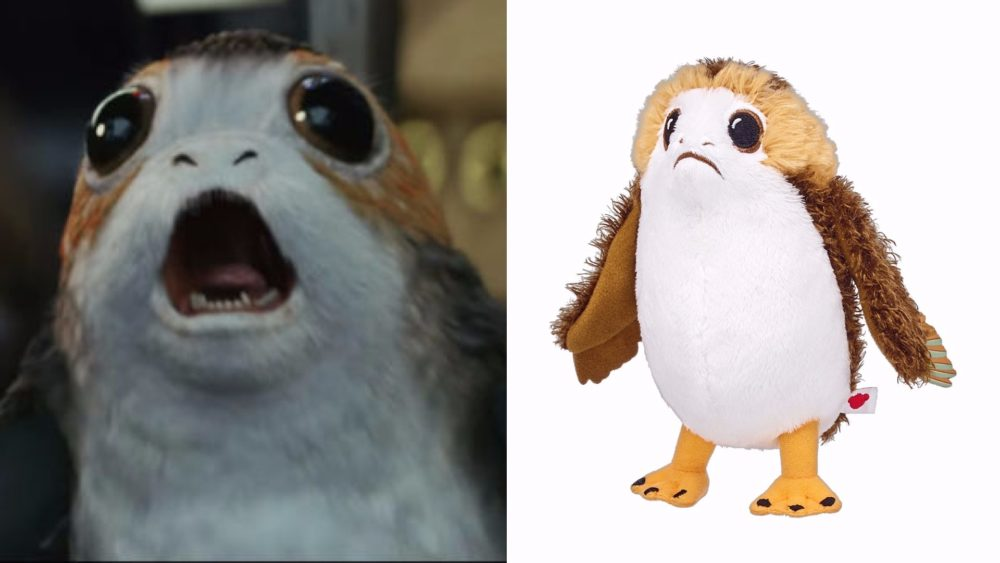 "Build-A-Bear just released a new ""Star Wars"" collection, and we're seeing Porgs"
