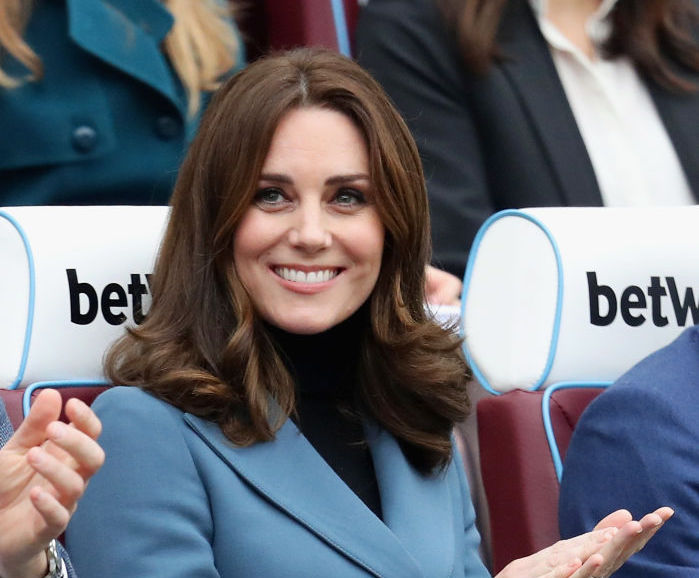 Kate Middleton's pregnancy athleisure look is a game, set, maternity fashion win