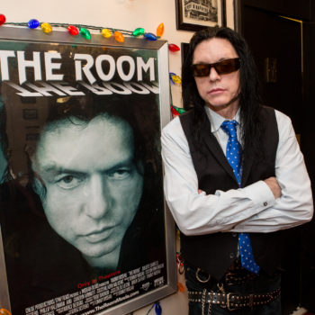 "If you want to see even MORE of Tommy Wiseau, ""The Room"" might be released in 3D"
