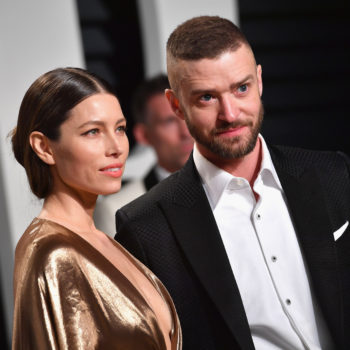 """Justin Timberlake and Jessica Biel's family dressed up as """"Toy Story"""" characters for Halloween 2017"""