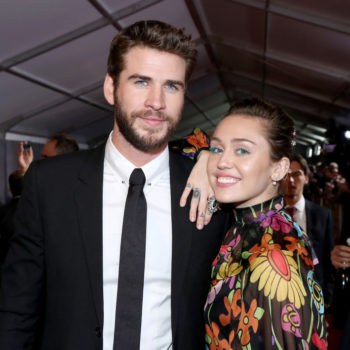 Miley Cyrus and Liam Hemsworth have been spotted wearing wedding bands