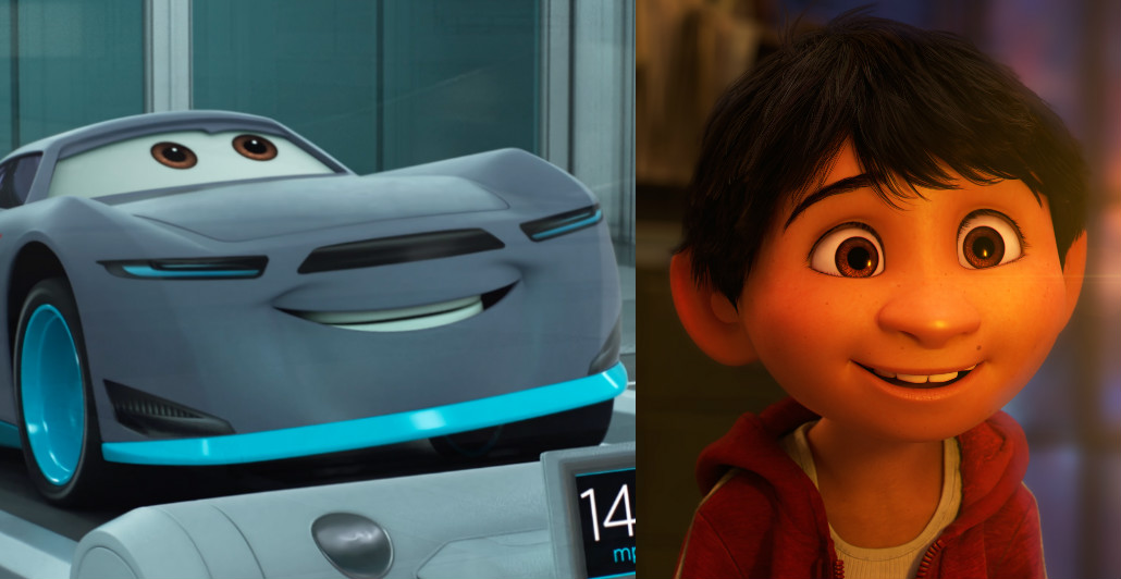 """Here's where you can find the """"Coco"""" Easter eggs in """"Cars 3"""""""