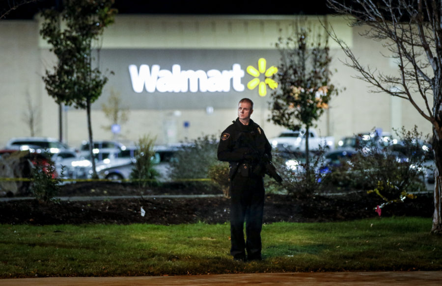 Police are still searching for a gunman who killed 3 people in a random attack at a Colorado Walmart