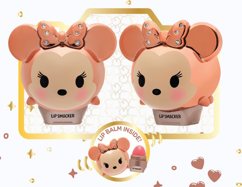 Lip Smacker released a rose gold Minnie Mouse lip balm to match your Minnie ears