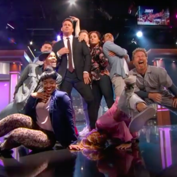 "Channing Tatum's epic dance number on ""Jimmy Kimmel Live"" is why we can't quit him"