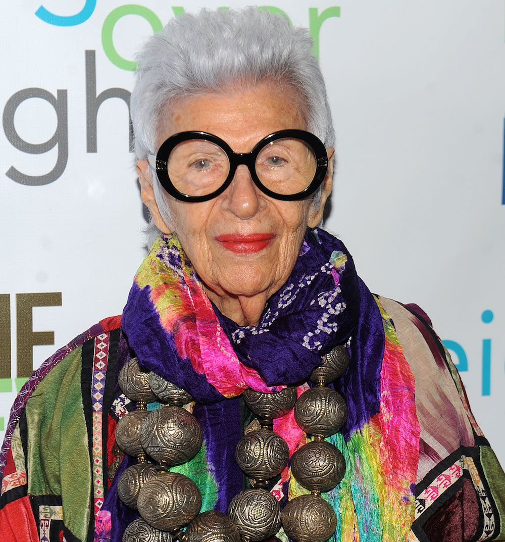 "Fashion icon Iris Apfel talks about designing the new ""Murder on the Orient Express"" collection for HSN"