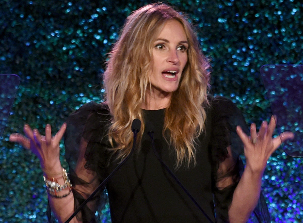 Julia Roberts turned 50 and answered a question about age in the most feminist way