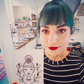 How working in an all-female tattoo studio is not only badass, but empowering