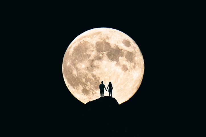 What this weekend's full moon means if you're in a relationship