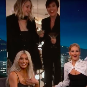 Jennifer Lawrence once got naked in a closet at Kris Jenner's house, you know, as you do