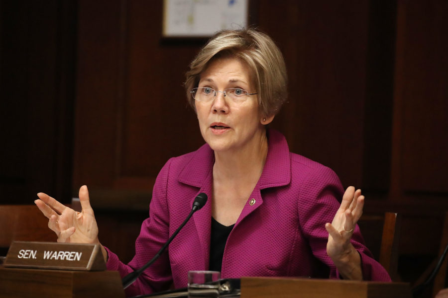 Senator Elizabeth Warren believes the DNC system was rigged to help Hillary Clinton