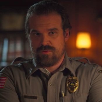 "Hopper wore a wig, and other ""Stranger Things"" hair secrets we're freaking out over"
