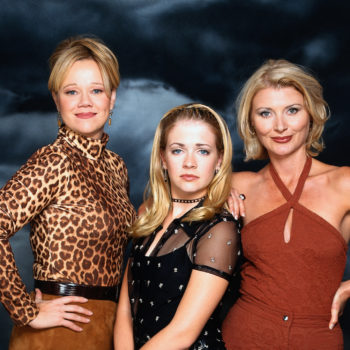 """The """"Sabrina, the Teenage Witch"""" cast reunited, and Harvey made us swoon"""