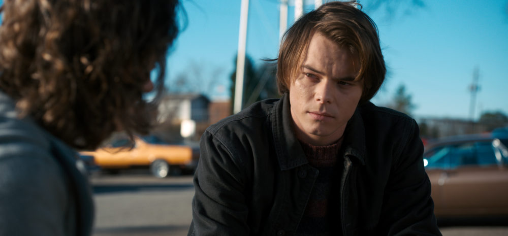 "Guys, Charlie Heaton (aka Jonathan in ""Stranger Things"") is a dad"