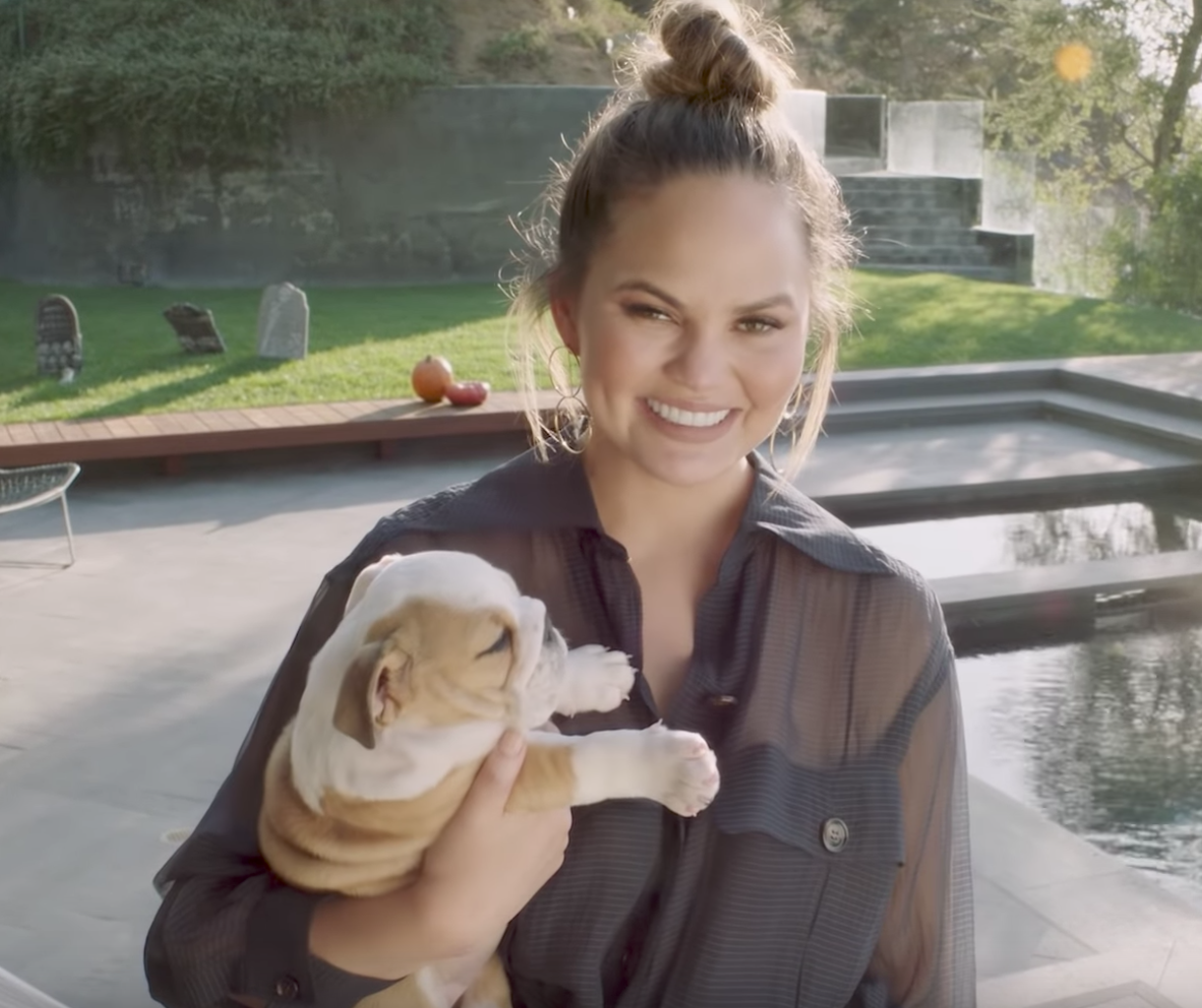Chrissy Teigen left an Outback Steakhouse waitress a HUGE tip — after she ordered a Bloomin' Onion, of course