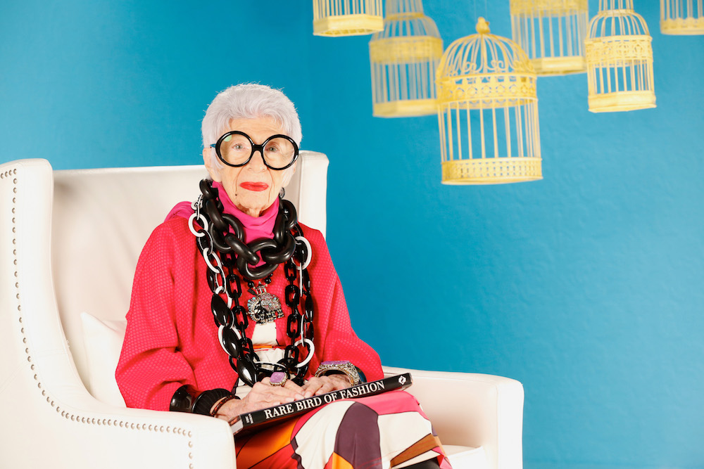 Spice up your apartment with Iris Apfel's vibrant furniture collection