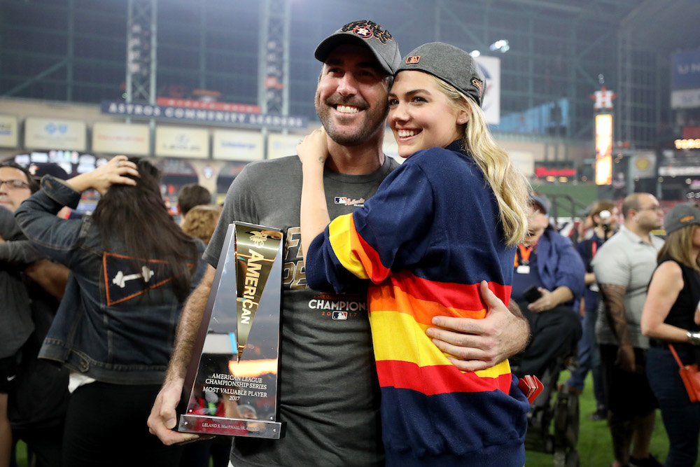 Congratulations are in order for newlyweds Kate Upton and Justin Verlander!