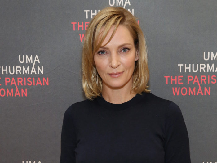 Uma Thurman Was Asked About Weinstein, and Her Response Was Chilling