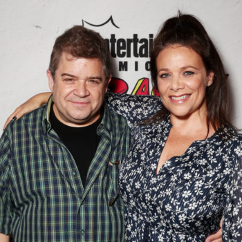 Patton Oswalt and Meredith Salenger got married, and we're so happy for them