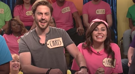 """Liam Hemsworth made a clutch surprise appearance on """"SNL"""" with Miley Cyrus this past weekend"""