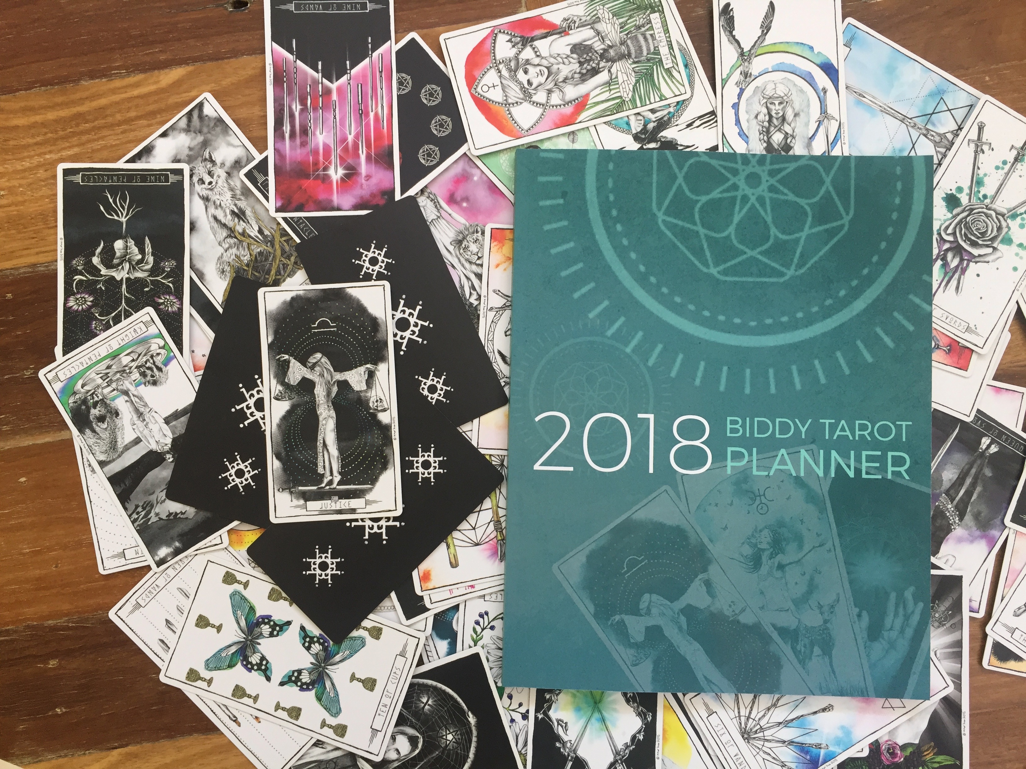 This tarot planner will make sure your 2018 is headed in the right direction