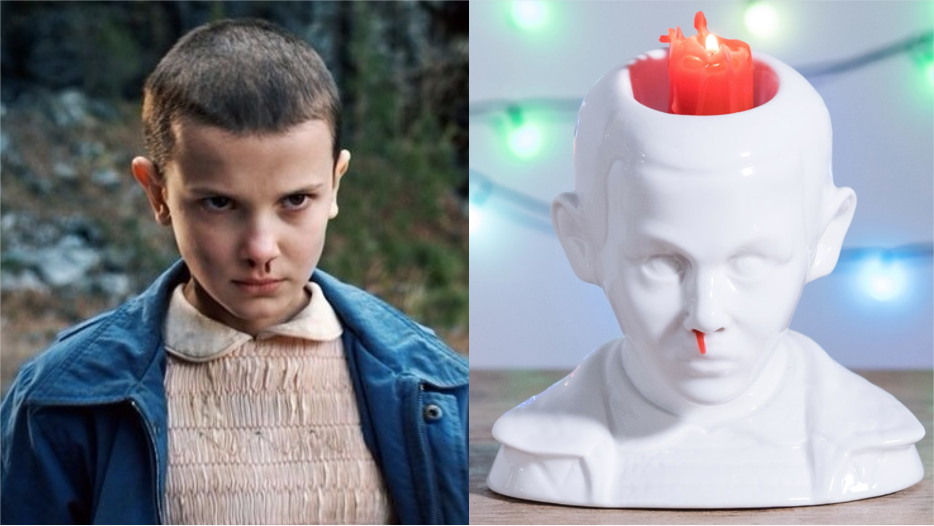 """Stranger Things"" fans can fight off the Mind Flayer with this Eleven bleeding nose candle"