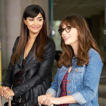 """Zooey Deschanel posted a behind-the-scenes photo from the final season of """"New Girl"""" — and please, keep these coming"""