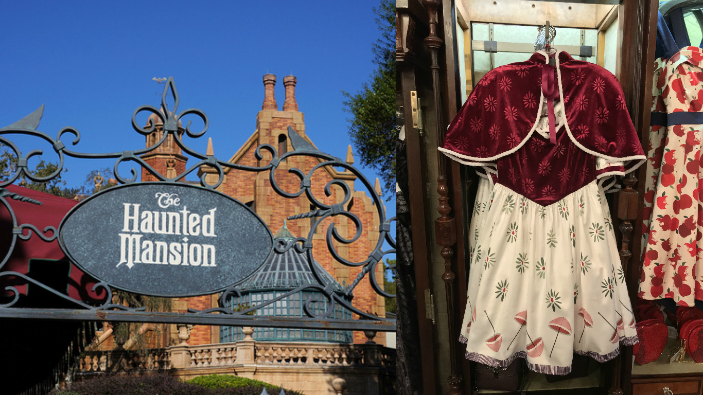 Listen up, foolish mortals! Her Universe's Haunted Mansion collection is here