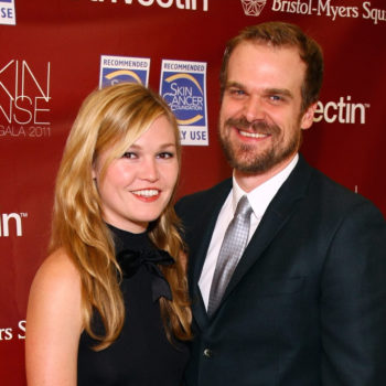 We just learned David Harbour and Julia Stiles used to date, and our world is SHOOK