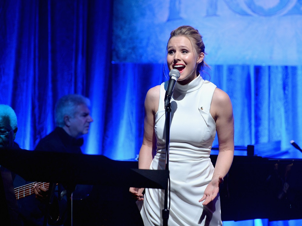 "Kristen Bell just had the best ""Frozen""-related reunion on Insta"