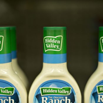 Here's how you can buy Hidden Valley Ranch dressing by the keg