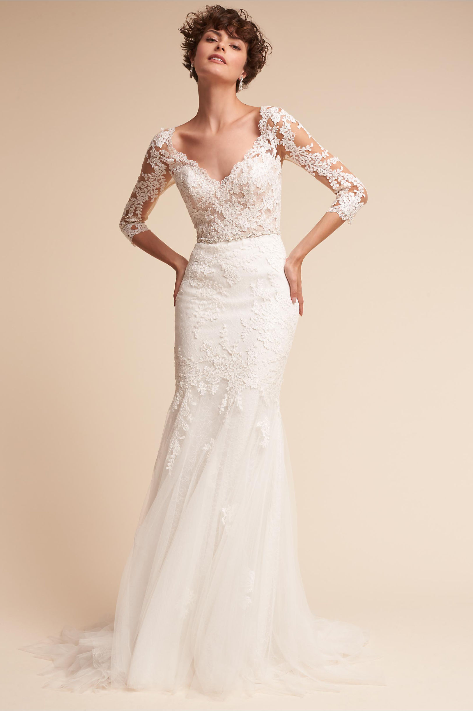60s-inspired wedding dresses for the bride who loves a vintage ...