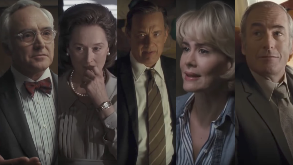 Sarah Paulson AND Tom Hanks are in Spielberg's new movie, and maybe everything will be okay