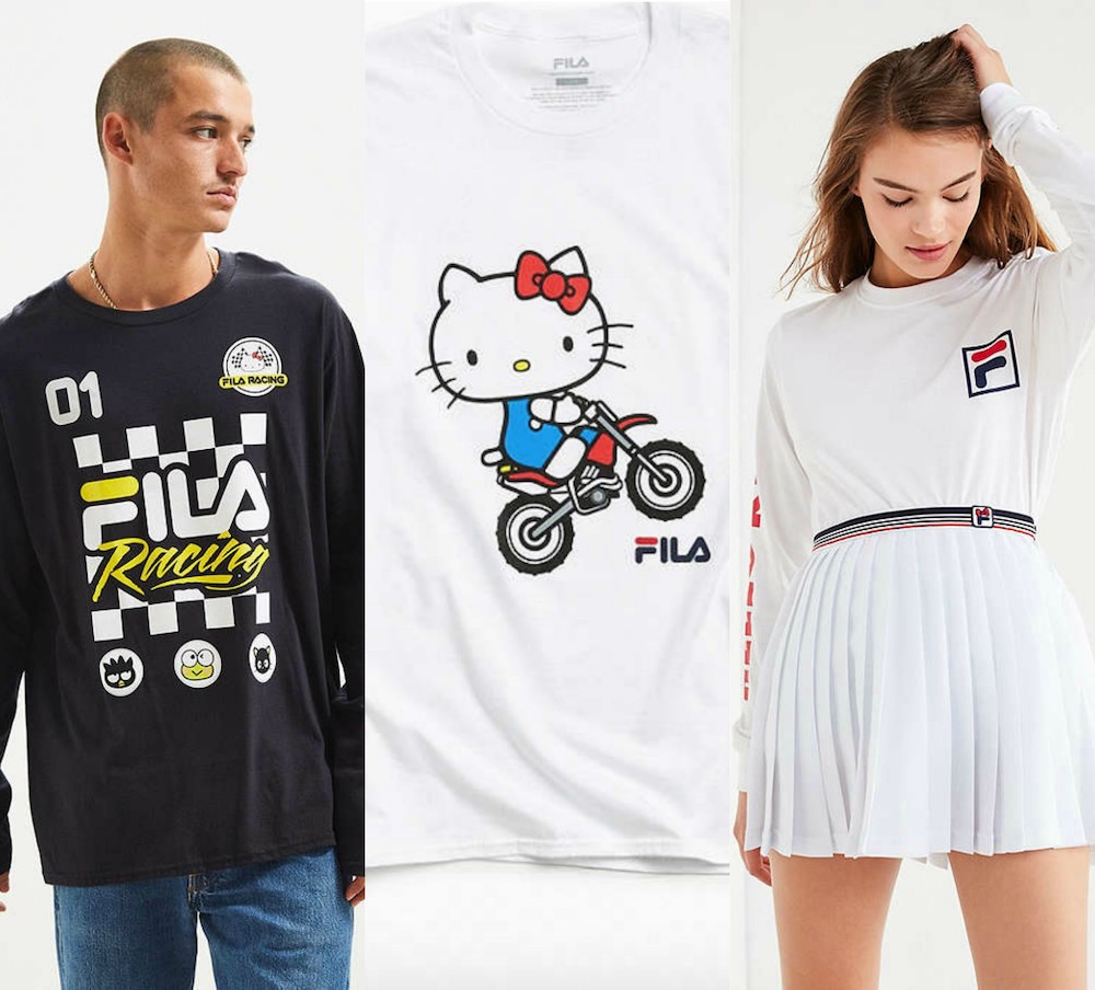 786051e95 The FILA x Sanrio clothing collab will speak to your inner Sporty Spice