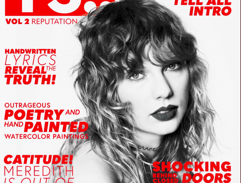 "Are Taylor Swift's ""Reputation"" magazines throwing major shade?"