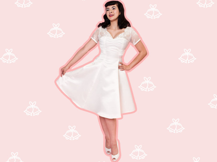 '60s-inspired Wedding Dresses For The Bride Who Loves A
