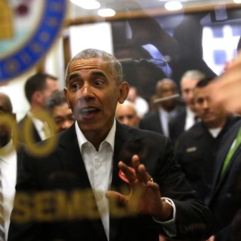 Barack Obama reported to jury duty, and people at court showed him so much love