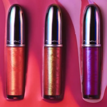 """MAC's otherworldly lip gloss collection is giving us """"Zenon: Girl of the 21st Century"""" vibes"""