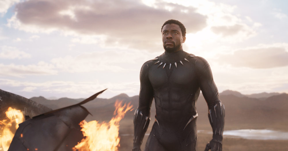 "Marvel just dropped some new ""Black Panther"" posters, and Wakanda is *lit*"