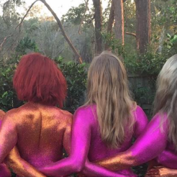 These women posed nude and covered themselves in glitter, and their reason for doing it will inspire you (NSFW)