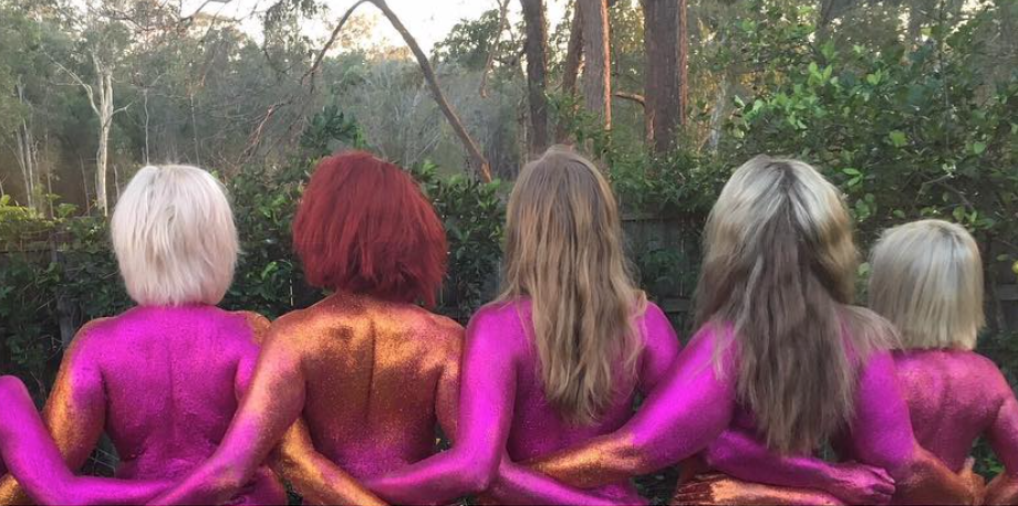 Why these women posed nude and covered themselves in glitter will inspire you (NSFW)