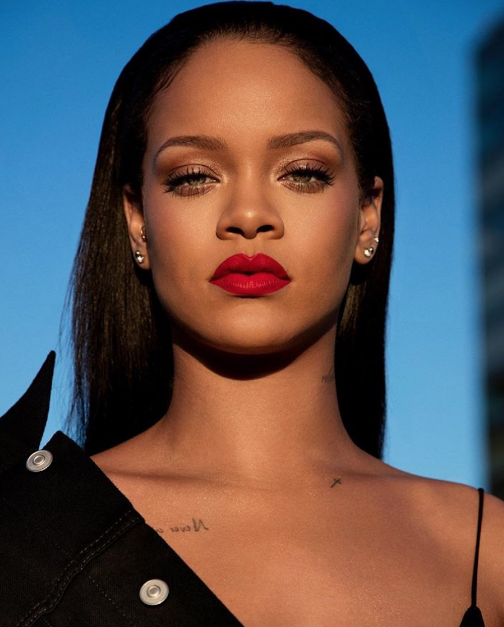Red lipstick lovers are going to *need* Fenty Beauty's new lip paint, so make room in your collection