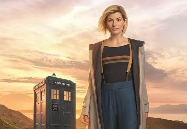 "Jodie Whittaker's new ""Doctor Who"" look involves the best accessory yet — yellow suspenders"
