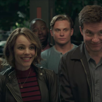 "Rachel McAdams, Jason Bateman, and Kyle Chandler take ""Game Night"" way too seriously in the film's first trailer"