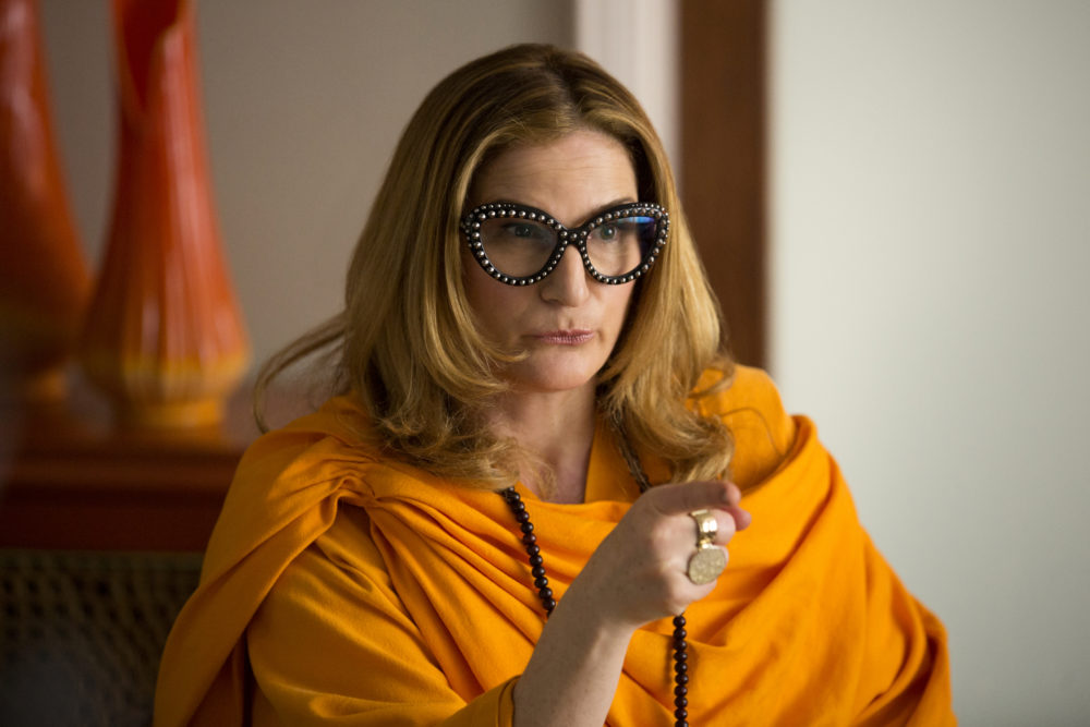 "Ana Gasteyer is back and hilarious as ever as Karen Grisham, the eccentric agent in ""Lady Dynamite"""
