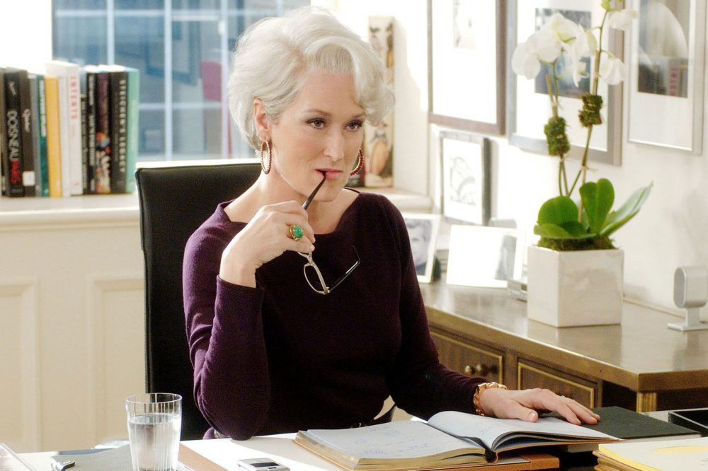 "Anna Wintour interviewed Meryl Streep, but the former did *not* want to talk about ""The Devil Wears Prada"""