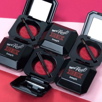 Benefit launched the perfect red lip color just in time for our upcoming holiday parites
