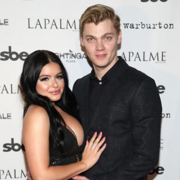 Ariel Winter posted a one-year-anniversary message to BF Levi Meaden