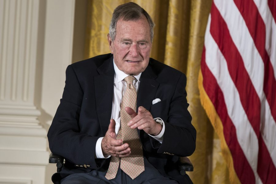 George H.W. Bush has been accused of groping a 16-year-old girl