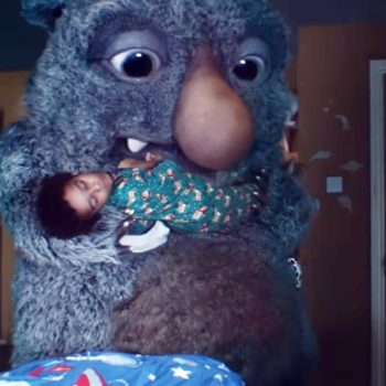 This beautiful Christmas commercial about a farting monster is going viral